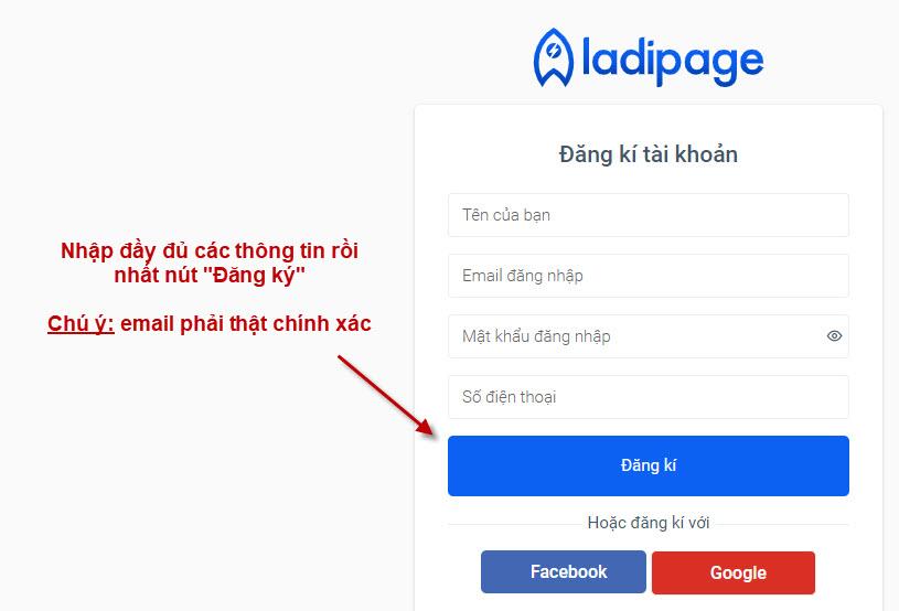 Tự tay thiết kế Landing Page không cần biết lập trình