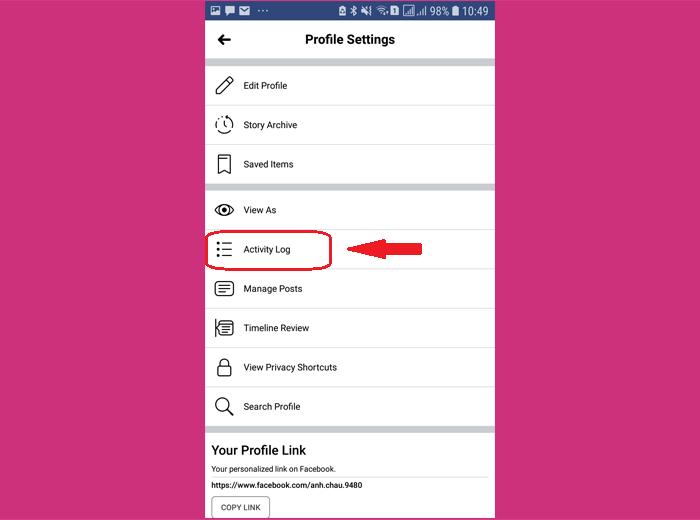 Hướng dẫn cách làm đối với điện thoại Android