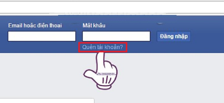 Cach Lay Lai Nick Facebook Bi Hack Email Va Sdt 1