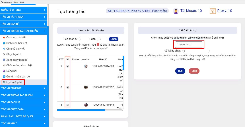Simple Facebook Pro - Phần mềm hỗ trợ kết bạn khách hàng tiềm năng, nuôi nick Facebook, xây dựng trang cá nhân bán hàng trên Facebook 34