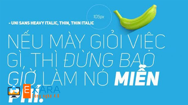 Font Việt hóa Uni Sans