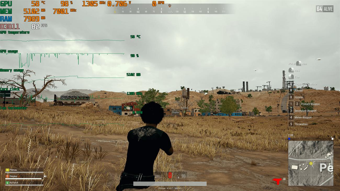 Hiển thị thông số phần cứng khi chơi game