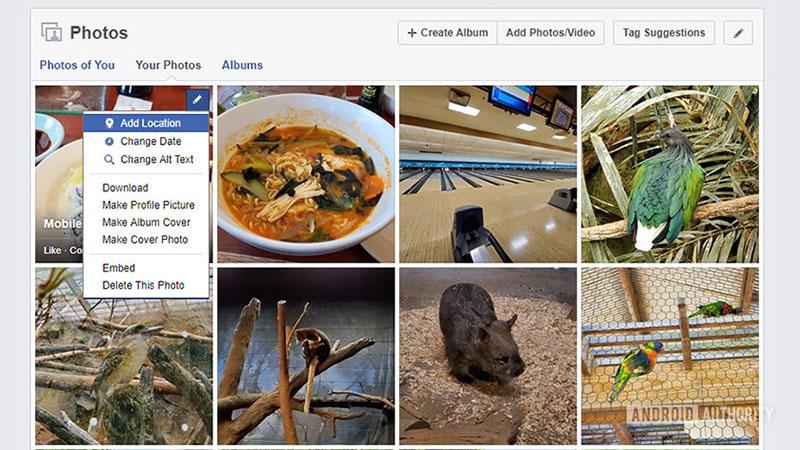 Cach Xoa Anh Hang Loat Tren Facebook 1