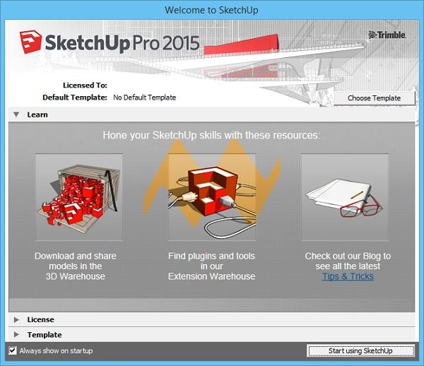 Sketchup Pro 2015