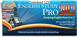 Giao diện của english study pro 2017 full crack